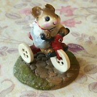 M-101, Mousey's Tricycle, Wee Forest Folk, Retired 2000 w Box, Miniature