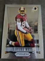 2012 Panini Prizm Football Card #199 Santana Moss - Redskins