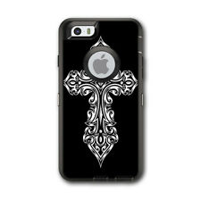 Skin Decal for Otterbox Defender iPhone 6 Case / Tribal Celtic Cross