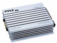 Pyle PLMRA400 4 Channel 400w WaterProof Marine Boat 12v Speaker Amplifier Amp