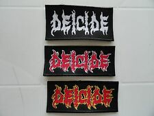 DEICIDE SODOM CANNIBAL CORPSE SAMAEL PATCH WOVEN PATCH EMBROIDERED HIGH QUALITY