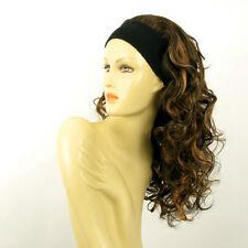 parrucca con bandana elastica cioccolato mechato rame ref BUTTERFLY 627C PERUK