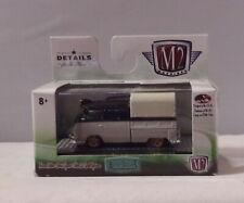 KKar M2/Castline - 2018 Auto Trucks - 1/64 sc- 1960 VW Double Cab Trk - Blk & Gr