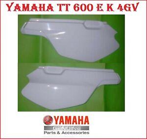 2 FIANCHETTI FIANCATINE FIANCATE CARENA ORIGINALI YAMAHA TT600 E K TELAIO 4GV
