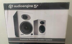 Audioengine A5+ Classic Powered Bookshelf Speakers - Pair *BLACK*