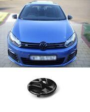 VW Golf 6 VI Emblem schwarz Glänzend front vorne vorder Zeichen MK6 Embleme #005
