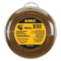 DEWALT 0.080 in. x 225 ft. String Trimmer Line DWO1DT802 New