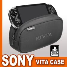 SONY Official Playstation PS VITA Soft  Protective Padded Travel Case Pouch NEW