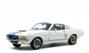 FORD SHELBY GT500 WHITE FANTASTIC EXAMPLE DIECAST MODEL FINE DETAIL 1:18 SCALE