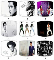 Lampshades Ideal To Match Elvis Presley Cushions, Elvis Duvets & Elvis Wall Art.