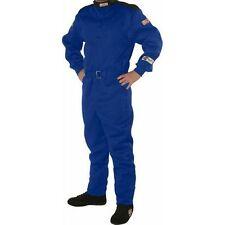 G-Force Racing 4145XXLBU XXL Size GF145 Series Single Layer Driving Suit; Blue
