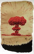 David De La Mano & Santa – Sumun Print Poster Summon Street Art Artwork