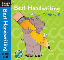 Best Handwriting for Ages 7-8, Andrew Brodie   Paperback Book   Good   978071368