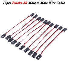 10pcs 10cm Quadcopter Servo Extension Lead JR Male To Male Wire Cable RC