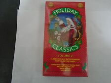Holiday Classics Volume 2 VHS Tape, NEW