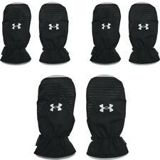 Under Armour Mens Cart Mitts Infrared Mitts Leather Palm Golf Mittens ColdGear