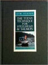 Jim Teeny~THE TEENY TECHNIQUE FOR STEELHEAD & SALMON~SIGNED 1ST~NICE COPY