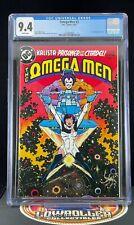 Omega Men #3 CGC 9.4 1st Appearance of Lobo