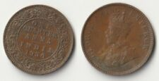 1936 India quarter anna coin