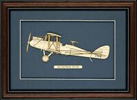 de Havilland D.H.9 - Wood Art