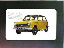 Honda N 600 Automático & Touring 1971-72 ORIGINAL FOLLETO de ventas se abre para cartel