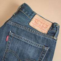 Levi 527 Jeans Slim Bootcut Zip Fly Blue Vintage Men's (PatchW30L34) W 30 L 33