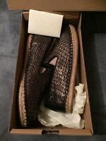 New Ugg Sandrinne Metallic Basket Espradille Shoe - New UK 6
