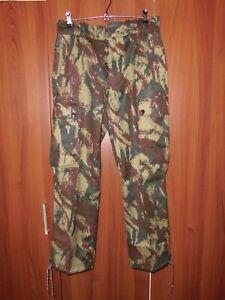 Portuguese Marines Lizard Camo Trousers Africa War Original