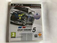 Gran Turismo 5: Academy Edition/Nuevo Sellado De Fábrica/Playstation 3 PS3