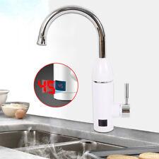 3000W 360° Elektrische Wasserhahn Durchlauferhitzer Waschtischarmatur Warmwasser