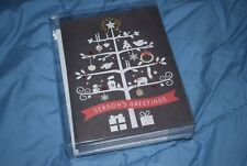 Chalkboard Tree Boxed Holiday Christmas Cards (Set of 16)