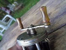 vintage antique PFLUEGER TRUMP FISHING REEL No. 1943 Gorgeous handles