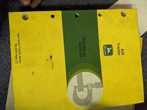 John Deere 830 Tractor Technical Shop Manual TM-4279 oem