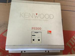kenwood KAC-PS200 old school amplifier good condition 300w bridged power