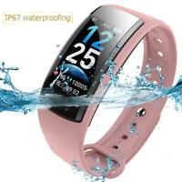 Real-time Monitoring Blood Pressure Heart Rate Sport Smart Watch Fitness Tracker