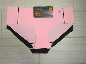 RBX 2 pair Sporty Panty Laser Cut No Show Panties Size Large