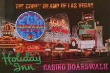 BOARDWALK HOTEL CASINO - $1 GAMING CHIP - LAS VEGAS NEVADA