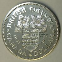 1971 Canada Proof-Like Nickel Dollar