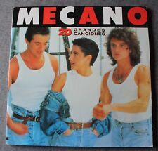 Mecano, 20 grandes canciones - Best of, 2LP - 33 tours import