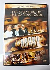 Video DVD - Creation of the Da Vinci Code Bonus NEW Open WORLDWIDE