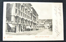CARTOLINA GENOVA CORSO ANDREA PODESTA' RARA VIAGGIATA 1903 SUBALPINA ZZ