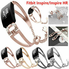 For Fitbit inspire/HR/2 Stainless Steel Replacement Metal Wrist Band Watch Strap