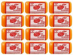 12 Packs Rattlesnake Oil Soap Bar Jabon De Aceite De Vibora De Cascabel Unisex