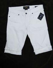 BRAND NWT LUCKY BRAND🍀ZOE BERMUDA WHITE SHORTS Size 27
