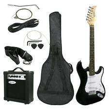 Full Size Electric Guitar with Amp, Case and Accessories Pack Beginner Star