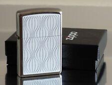 Zippo Lighter ⁕ Waves Wellen ⁕ Neu New OVP ⁕ A1230