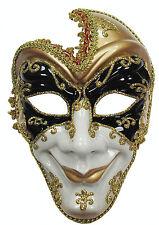 Adulto Evil FULL FACE JESTER Masquerade Maschera Halloween Fancy Dress accessoryem 432