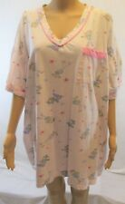 Women's Sleepwear Pullover Night-Gown by Maidenform One-Size Pink V-Neck