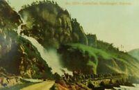 Laatefoss Hardanger Norway Unposted Divided Back Vintage Postcard