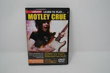 Lick Library Learn to Play Motley Crue  - Guitar Lesson DVD